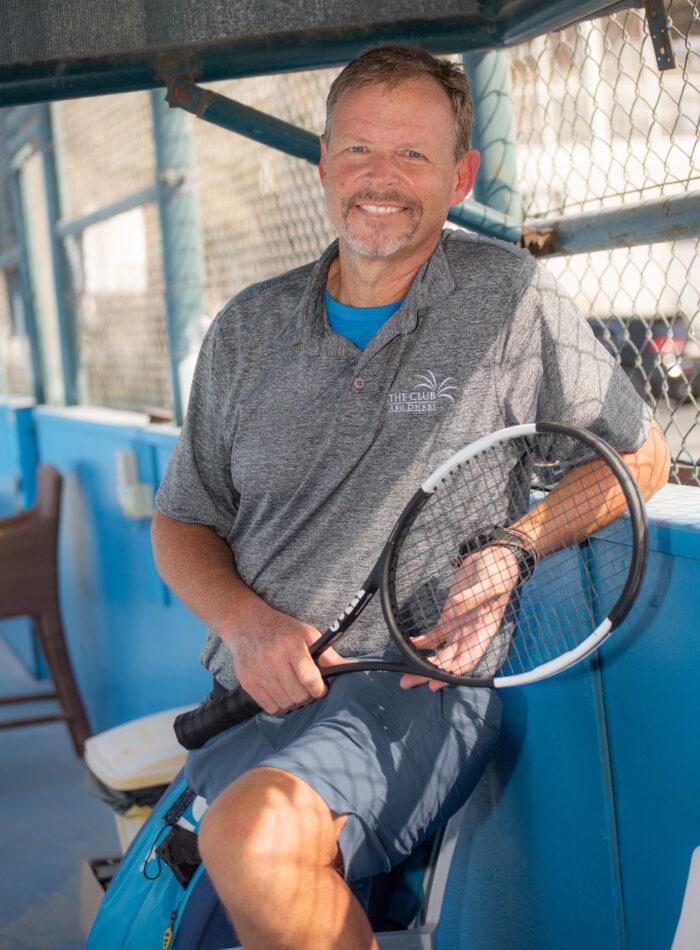 Eric, tennis coach at The Club