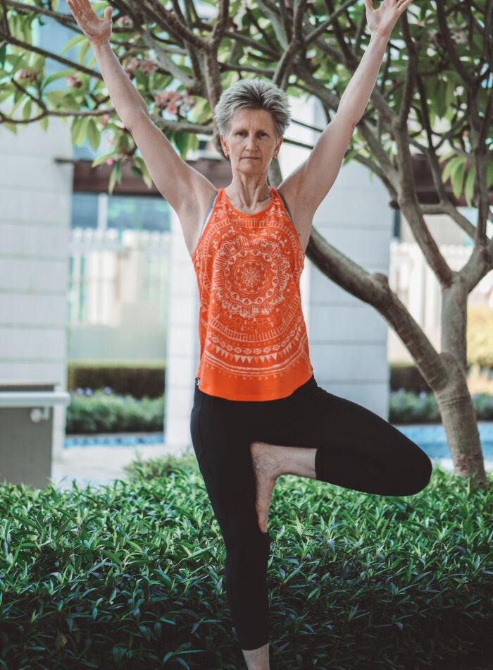 Kim Yoga at the Club Abu Dhabi