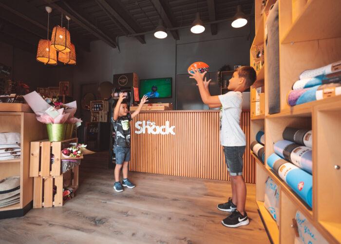 The Shack, shopping Abu Dhabi