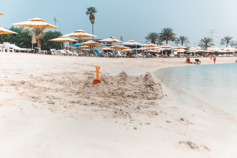 Beautiful beaches Abu Dhabi