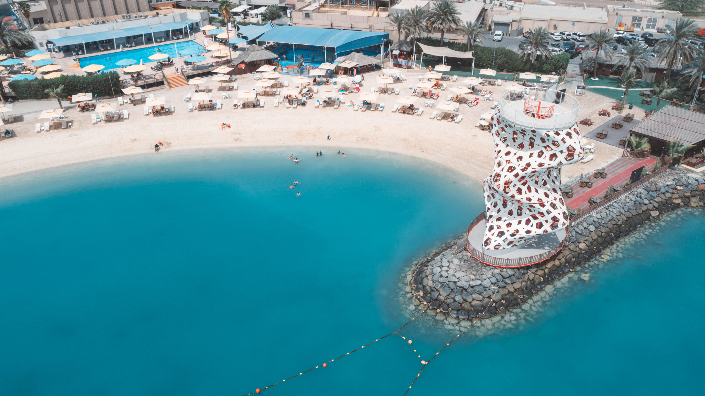Main beach The Club Abu Dhabi